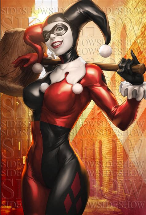 Harlequin The City harley quinn sideshow by artgerm on deviantart