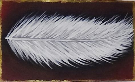 acrylic painting bird feathers mini acrylic painting feather