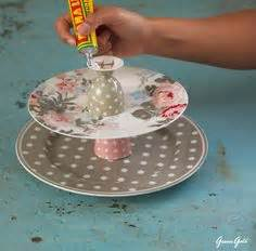 Etagere Greengate by Boxwood Clippings Diy Metal Cakestand Ikea Hack