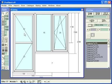 sketch software for windows ccg profiles software for windows and doors design and drawing constructions part 1