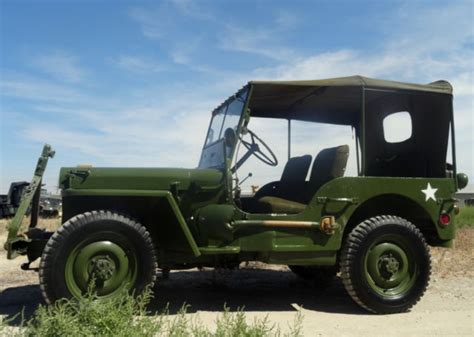 World War 2 Jeep For Sale 1942 Willys Mb Jeep World War 2 Wwii Classic