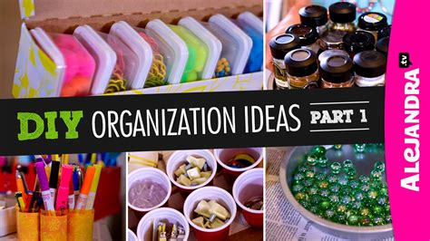 youtube organizing diy organization ideas part 1 youtube