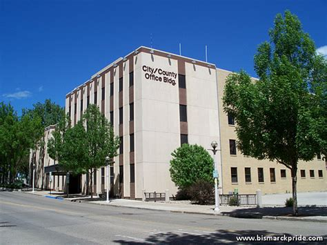 city county administrative building downtown bismarck