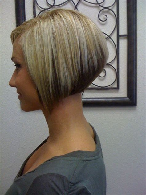 short angled cut thats why cute i probably wouldn t go this short but really cute