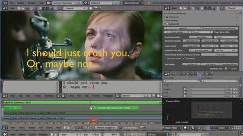 Blender 7 In 1 textsync2d 3d enhanced subtitling in blender blendernation