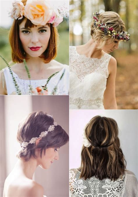 Wedding Hair For Brides by 9 Wedding Hairstyles For Brides With Hair