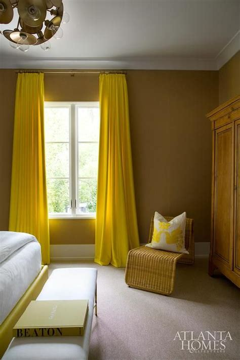 yellow curtains for bedroom best 25 chocolate brown walls ideas on pinterest brown