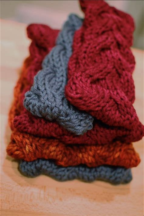Ear Hairband 10 knit headband ear warmer patterns the funky stitch