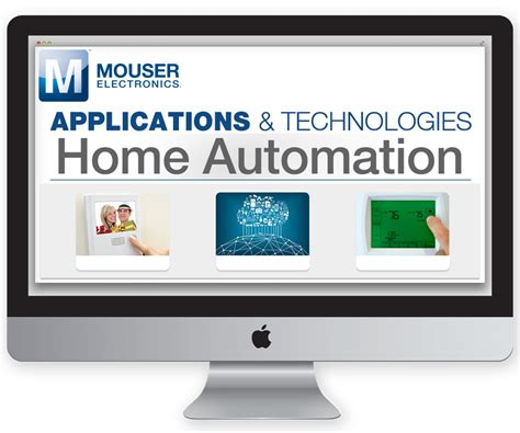 mouser electronics adds home and factory automation to its
