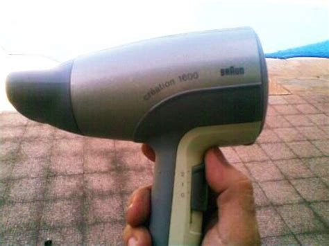 Braun Hair Dryer Silencio 1600 hair styling tools hair dryer creation 1600 braun was