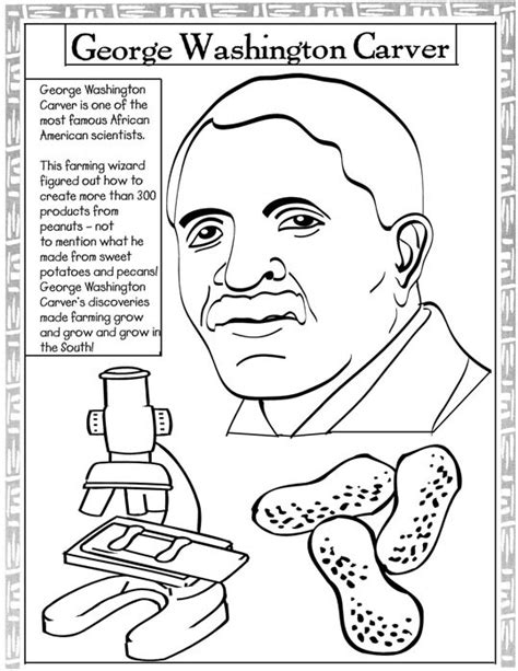 george washington coloring page free others coloring george washington carver coloring activities get