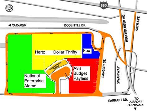 car rentals oakland international airport