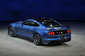 Ford Mustang 2016 2016 Ford Mustang Shelby Gt350r Is A Track Honed Hooligan