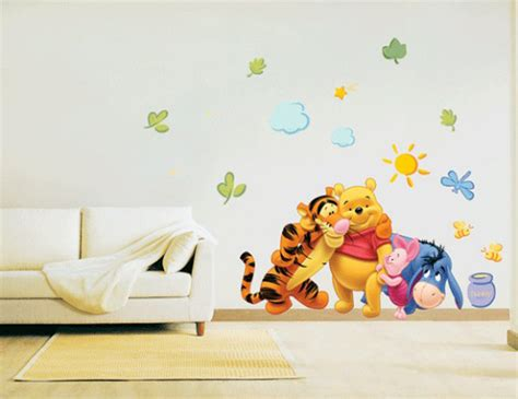 Owl Wall Stickers For Nursery cartoon character wall sticker plans iroonie com