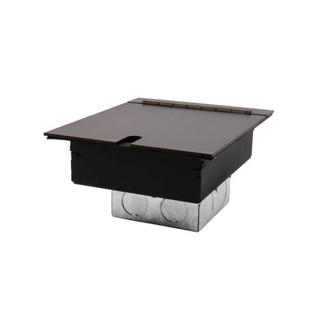 Recessed Floor Box by Recessed Floor Box 2 Recessed Floor Box Antique