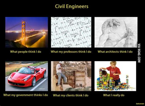 Civil Engineering Memes - 4 reasons to become a civil engineer