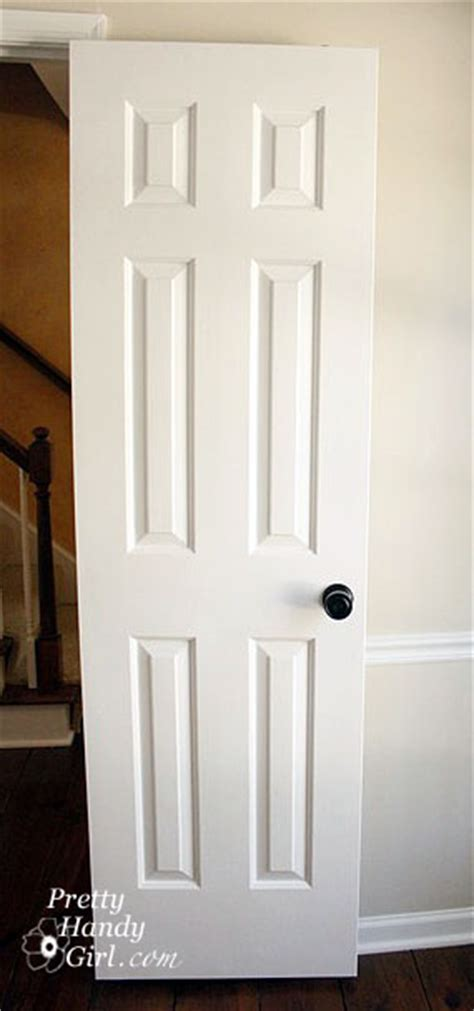 How To Paint Interior Doors How To Paint Doors The Professional Way Pretty Handy