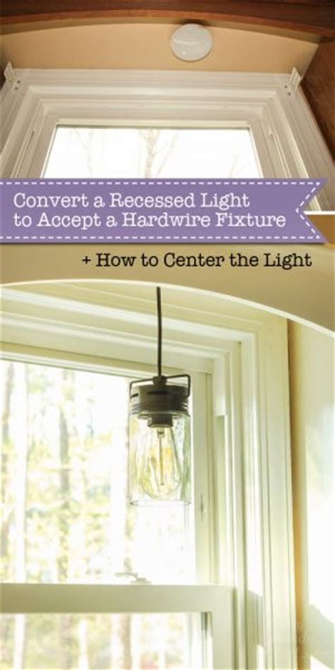 how to convert recessed light to pendant 5 minute light upgrade converting a recessed light to a