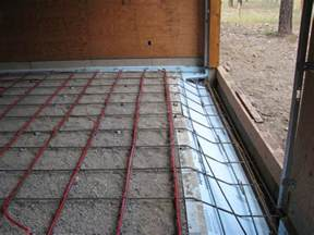 radiant floor heating systems houses flooring picture