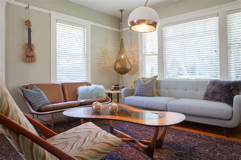 mid century modern interior danish living room furniture vintage bungalow mid century modern living by kimball