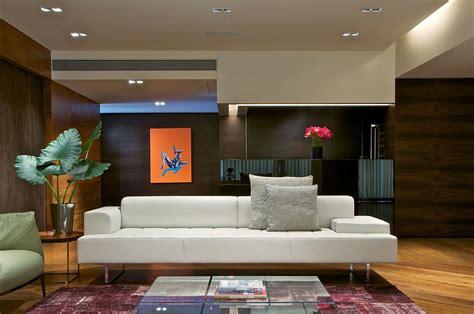interior design for living room in mumbai contemporary penthouse by rajiv saini associates