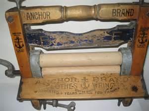 Bed Linen Measurements - antique anchor brand wash amp clothes wringer