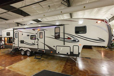fifth wheel cers with bunkhouse and outdoor kitchen new 2014 36qbok 7 5th fifth wheel bunkhouse travel trailer