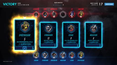 Overwatch Cards Template by Overwatch Do The Commendation Votes At The End Of Of A