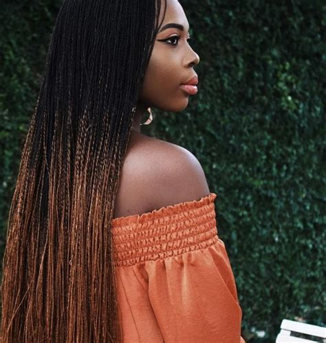 ombre micro braid hair micro braids hairstyles 7 celebrity looks you have to see