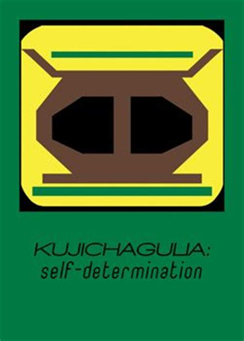 Shelf Determination by Quot Kujichagulia Quot Self Determination To Define Ourselves