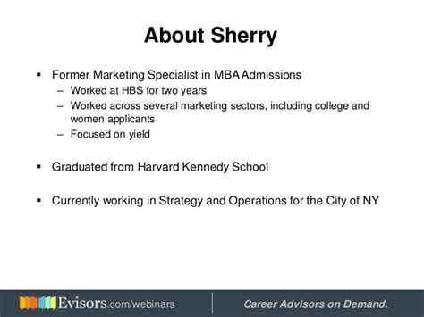 How To Apply To Harvard Mba by Applying To Harvard Business School