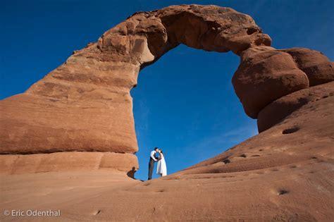 wedding arches national park virginia matthew delicate arch wedding arches national park eric odenthal photography