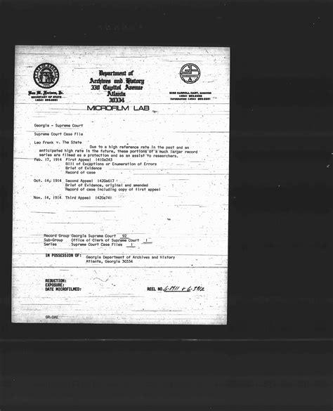 Court Records Ga Supreme Court Records 1