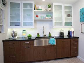 Modern Glass Kitchen Cabinets by Kitchen Cabinet Design Pictures Ideas Amp Tips From Hgtv