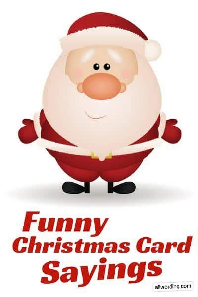 funny   write   christmas card allwordingcom
