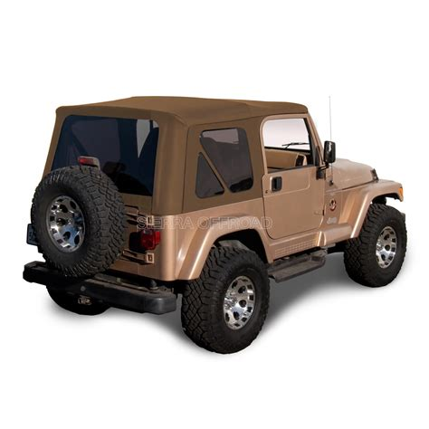 Jeep Yj Soft Top Jeep Wrangler Tj Soft Top 1997 2002 Tinted Windows