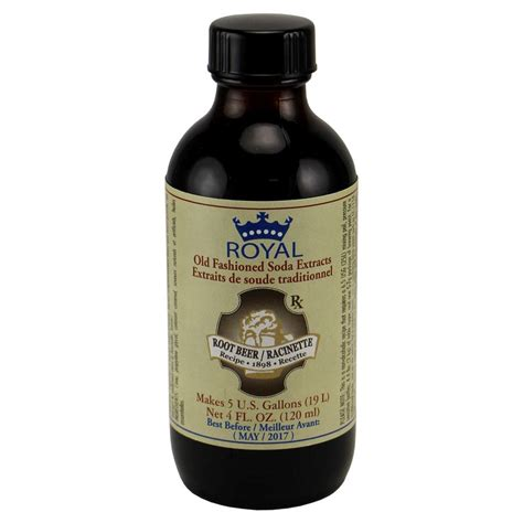 Rootbeer Flavor 10ml royal fashioned root extract 4 oz