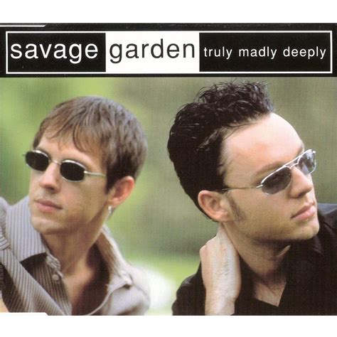 truly madly deeply savage garden mp3 buy tracklist