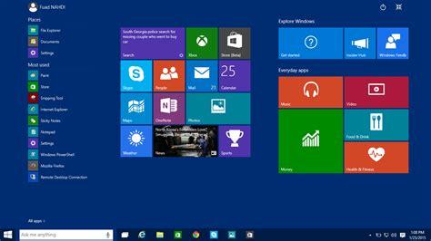 desktop icon themes windows 10 windows 10 pro technical preview screenshots techonia