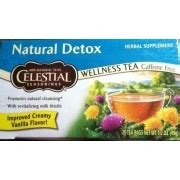Celestial Seasonings Vanilla Detox Tea by Celestial Seasonings Herb Tea With Milk Thistle Detox A