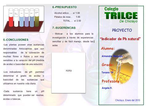 proyecto educacion vial 3 grado feria de ciencia modelo de tr 237 ptico para feria de ciencias