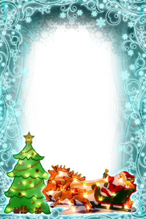 photo frames christmas  turquoise tones