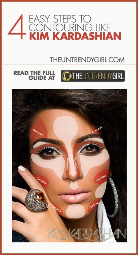 what face shape does kim kardashian have 4 easy steps to contouring like kim kardashian personally