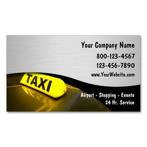 free taxi cab business card templates 257 best images about taxi business cards on