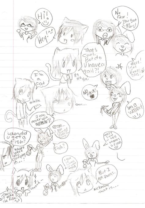 Drawing 2 Class by Drawing During Class 2 Stef By Neko Necokai On Deviantart