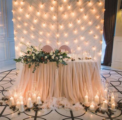 Table Decor For Weddings Best 25 Sweetheart Table Ideas On Pinterest