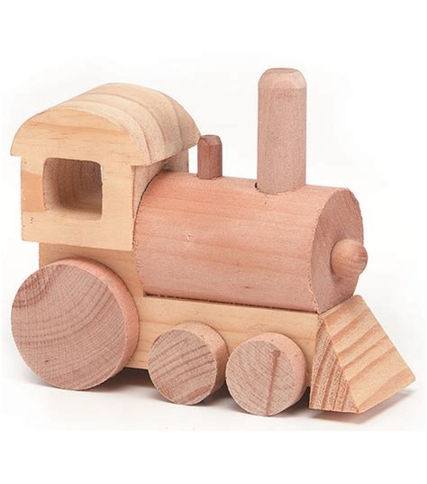 train wood toy kit joann