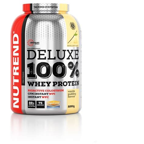 d protein ingredients deluxe 100 whey nutrend supplements