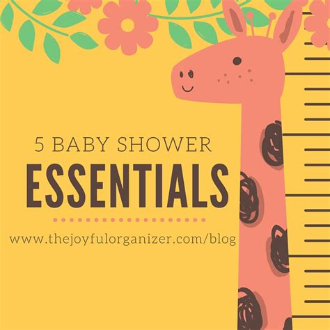 Essentials For Baby Shower by 5 Baby Shower Essentials For Your Amazinghood And