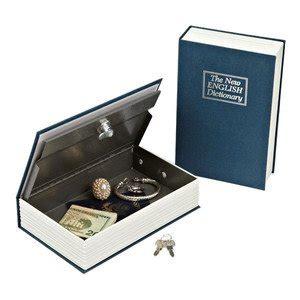 cassette di sicurezza per casa libro portavalori cassetta di sicurezza cassaforte metallo